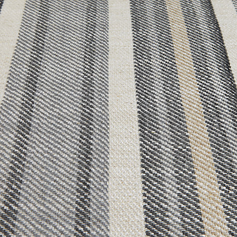 Buy John Lewis Leckford Woven Jacquard Fabric, Steel, Price Band E Online at johnlewis.com