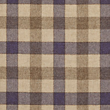 Buy John Lewis Rupert Woven Wool Fabric, Cassis, Price Band F Online at johnlewis.com