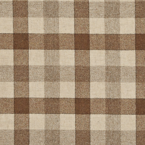 Buy John Lewis Rupert Woven Wool Fabric, Mole, Price Band F Online at johnlewis.com