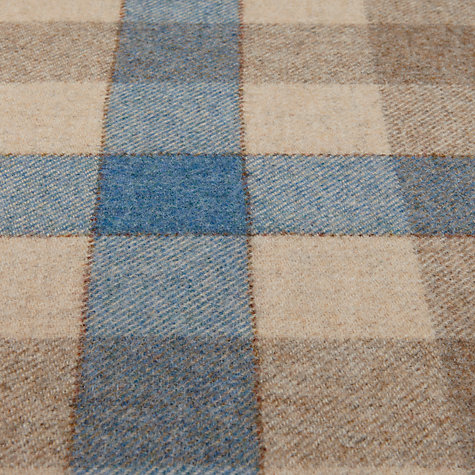 Buy John Lewis Rupert Woven Wool Fabric, Pacific, Price Band F Online at johnlewis.com