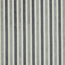 Buy John Lewis Savoy Putty Woven Stripe Fabric, Charcoal, Price Band C Online at johnlewis.com