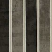 Buy John Lewis Whitby Woven Stripe Fabric, Sable, Price Band C Online at johnlewis.com