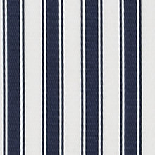 Buy John Lewis Camber Woven Stripe Loose Cover Fabric, Midnight, Price Band C Online at johnlewis.com