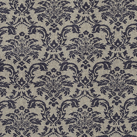Buy John Lewis Somerset Woven Jacquard Fabric, Carbon Blue, Price Band F Online at johnlewis.com