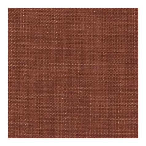 Buy John Lewis Buxton Semi Plain Fabric, Terracotta, Price Band E Online at johnlewis.com