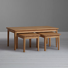 Buy John Lewis Harmony Coffee Table/Nest of 3 Tables Online at johnlewis.com