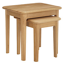 Buy John Lewis Harmony Nest of 2 Tables Online at johnlewis.com