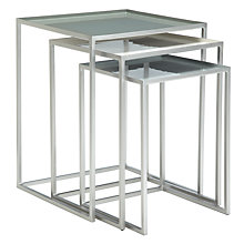 Buy Content by Terence Conran Accents, Nest of 3 Tables Online at johnlewis.com