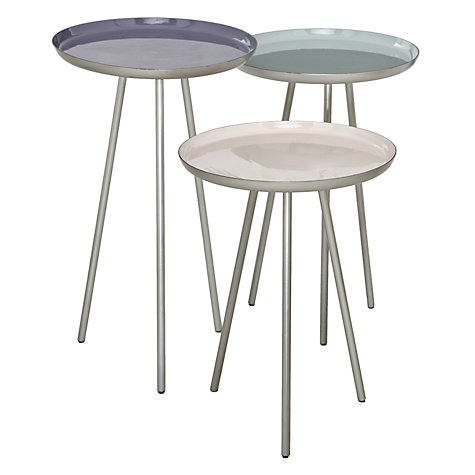 Buy Content by Terence Conran Accents Set of 3 Round Side Tables Online at johnlewis.com