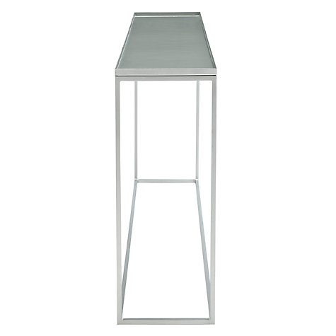 Buy Content by Conran Accents Console Table, Slate Online at johnlewis.com