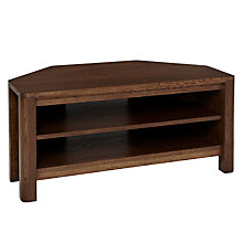 "Buy John Lewis Seymour Corner Television Stand for TVs up to 40"" Online at johnlewis.com"