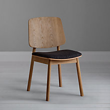 Buy Says Who for John Lewis Why Wood Upholstered Dining Chair Online at johnlewis.com