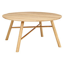Buy Says Who for John Lewis Why Wood Coffee Table, Oak Online at johnlewis.com