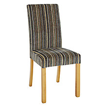Buy John Lewis Orly Upholstered Dining Chair, Matisse Aubergine Online at johnlewis.com