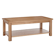 Buy John Lewis Orly Coffee Table, Oak Online at johnlewis.com