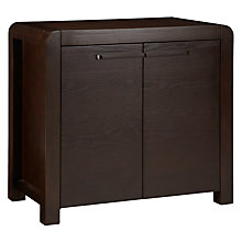 Buy John Lewis Marco 2 Door Hall Cupboard, Dark Online at johnlewis.com