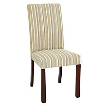 Buy John Lewis Marco Upholstered Dining Chair, Green Stripe Online at johnlewis.com