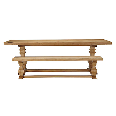 Buy Frank Hudson Refectory Bench, Oak Online at johnlewis.com