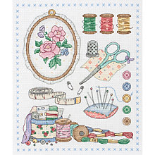 Buy Anchor Sewing Cross Stitch Kit Online at johnlewis.com