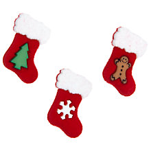 Buy Jesse James Paper Toppers Fuzzy Stockings Online at johnlewis.com
