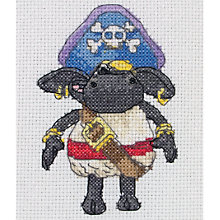 Buy Anchor Timmy Pirate Sheep Cross Stitch Kit Online at johnlewis.com