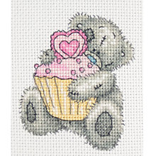 Buy Anchor Teddy and Cupcake Cross Stitch Kit Online at johnlewis.com