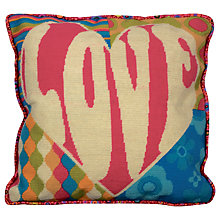 Buy Anchor Love Cushion Cover Tapestry Kit Online at johnlewis.com