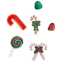 Buy Jessie James Paper Toppers Candy Canes Online at johnlewis.com