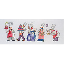 Buy Anchor Chefs Cross Stitch Kit Online at johnlewis.com