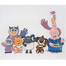 Buy Anchor Timmy and Farm Animals Cross Stitch Kit Online at johnlewis.com