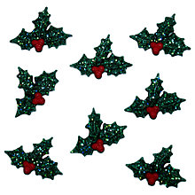 Buy Jesse James Paper Toppers Sparkle Holly Online at johnlewis.com
