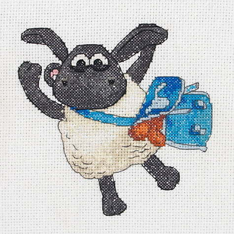 Buy Anchor Timmy the Lamb Cross Stitch Kit Online at johnlewis.com