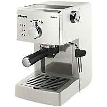 Buy Saeco Poemia Espresso Coffee Machine Online at johnlewis.com