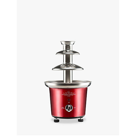 Buy Gourmet Gadgetry Chocolate Fountain Online at johnlewis.com
