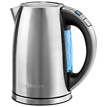 Buy Cuisinart CPK17U Multi-Temperature Kettle, Silver Online at johnlewis.com