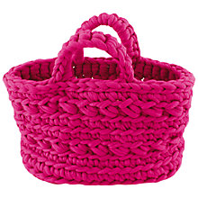 Buy Hoooked Zpagetti Revisto Crochet Handbag Kit Online at johnlewis.com