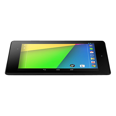 "Buy Google Nexus 7 (2013) Tablet, Qualcomm Snapdragon S4, Android, 7"", NFC, Wi-Fi & 4G LTE, 32GB, Black Online at johnlewis.com"