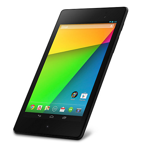 "Buy New Google Nexus 7 Tablet, Qualcomm Snapdragon S4, Android, 7"", NFC, Wi-Fi, 32GB, Black Online at johnlewis.com"