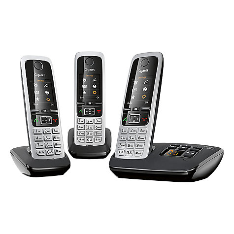 Buy Gigaset C430A Digital Cordless Telephone and Answer Machine, Twin DECT Online at johnlewis.com