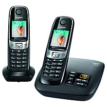 Buy Gigaset C620A Digital Telephone and Answer Machine, Twin DECT Online at johnlewis.com
