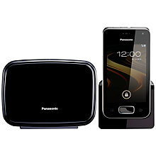 Buy Panasonic KX-PRX120 Premium Digital Smart Telephone and Answering Machine, Single DECT Online at johnlewis.com