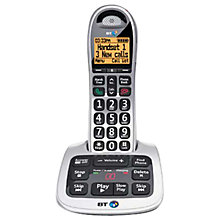 Buy BT 4500 Big Button Digital Cordless Telephone and Answering Machine with Nuisance Call Control, Single DECT Online at johnlewis.com