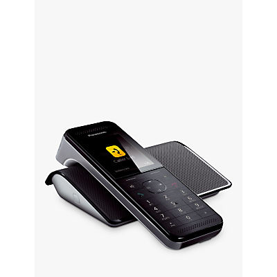 Panasonic KX-PRW120 Premium Digital Telephone and Answering Machine with Smartphone Connect, Single DECT