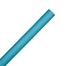 Buy John Lewis Kraft Wrapping Paper, L5m, Turquoise Online at johnlewis.com