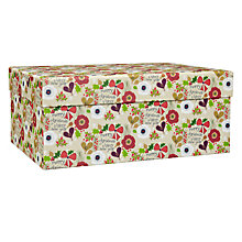 Buy Belly Button Merry Christmas Gift Box, Large Online at johnlewis.com