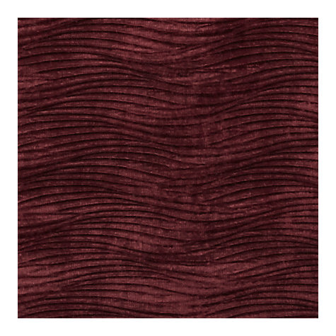 Buy Harlequin Arkona Woven Velvet Fabric, Claret, Price Band F Online at johnlewis.com