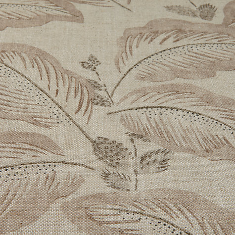 Buy Sanderson Box Hill Woven Print Fabric, Mushroom, Price Band F Online at johnlewis.com