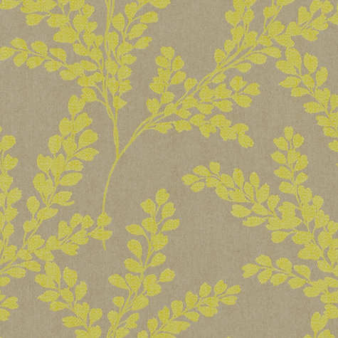 Buy Sanderson Clovelly Woven Jacquard Fabric, Citron, Price Band F Online at johnlewis.com