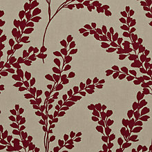 Buy Sanderson Clovelly Woven Jacquard Fabric, Claret, Price Band G Online at johnlewis.com