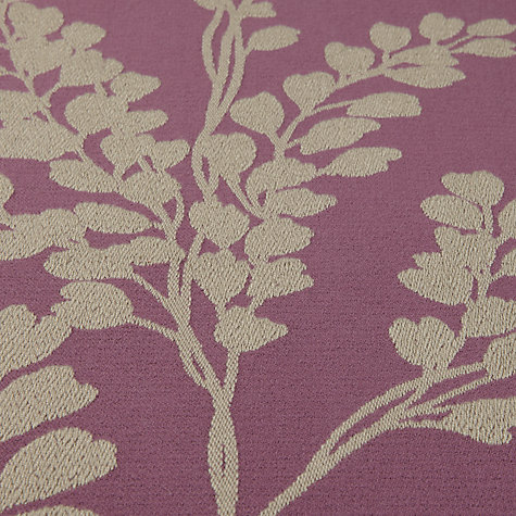 Buy Sanderson Clovelly Woven Jacquard Fabric, Fig, Price Band F Online at johnlewis.com